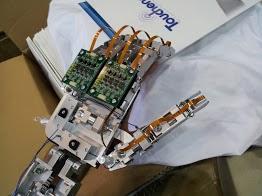 ロボットハンドデモ機