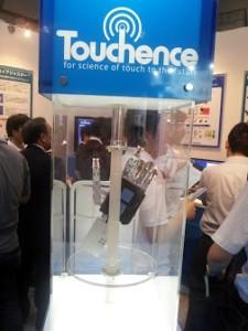 触覚センサーロボットハンドデモ機