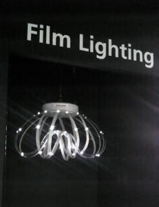 フィルムLEDライト